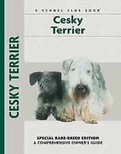 Cesky Terrier Kennel Club Books Hardcover Bowtie Illustrated Puppy Dog guide New