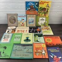 Vintage 1970s Children Book Lot 19 books Most Hardcover