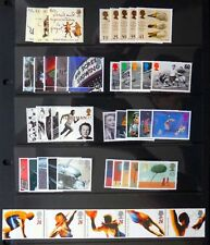 GB 1996 Commemorative Complete Year Collection 9 Sets U/M NC527