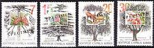 CYPRUS 1994 TREES OF CYPRUS - SPECIMEN MNH