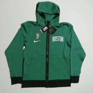 Nike NBA Therma Flex Showtime Boston Celtics Full Zip Hoodie CN4012-312 Small