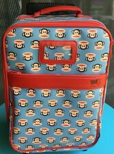 Vintage Paul Frank Julius Monkey Child Suitcase Rolling Luggage Small Paul
