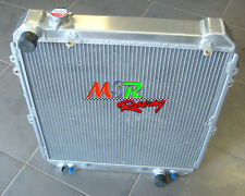 56mm For Toyota Hilux surf KZN130 1KZ-TE 1993-1996 aluminum radiator 3 core