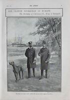 1902 Estampado el más Viejo Sovereign En Europa Cumpleaños Cristiano Ix King Of