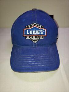 Jimmie Johnson #48 Team Lowe's Racing Hendrick Motorsports Nascar Hat Cap