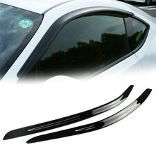 For Toyota GT86 Scion FRS Subaru BRZ Coupe Side Window Visor Shade 2017