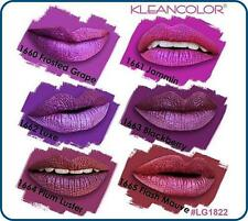( 6 PCs set ) Kleancolor Madly Matte Metallic Liquid Lip Gloss Lipstick LG1822