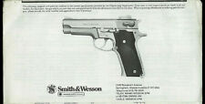 Copy* 1982 Smith & Wesson #659 9mm Semi Auto Pistol Owner's Manual Parts List