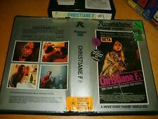 Betamax *CHRISTIANE F.* 1981 Pre Cert SOUGHT AFTER - Original Roadshow 1st Issue