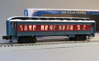 LIONEL POLAR EXPRESS HOT CHOCOLATE CAR O GAUGE train snow NEW DESIGN 6-84603