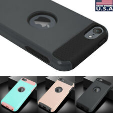 For Apple iPod Touch 7th 6th 5th Generation Rugged Hybrid Heavy Duty Case Cover