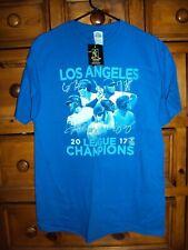NWT Los Angeles Dodgers League Champion 2017 T Shirt L Large Mens Cody Bellinger