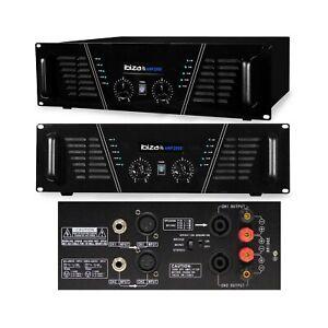 Amplificateur de sonorisation 2 x 1500W - Ibiza Sound AMP2000