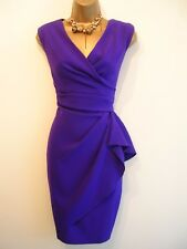 "Coast-   Beautiful ""Emmy"" Purple   Cocktail Dress Size 10"