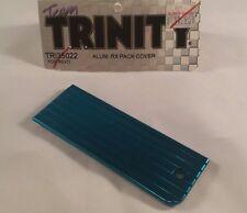 TEAM TRINITY RC TRAXXAS REVO RC 2.5 3.3 BLUE ANODIZED ALUMINUM RX PACK COVER