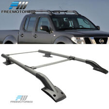 For 05-17 Nissan Frontier OE Style Roof Racks Rail Cross Bar Black Cap