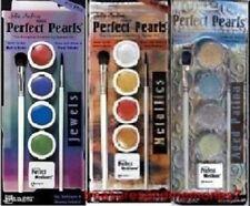 Lot of 12 Ranger PERFECT PEARLS JEWELS METALLICS PATINA 3 Medium 6 brushes