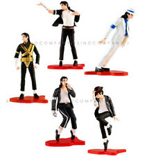 "Lot5PCS Michael Jackson PVC 4"" Action Figure Statue Toy Collection Model gift"