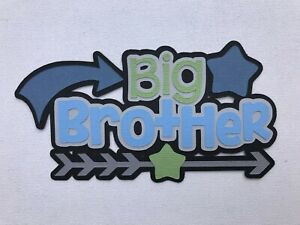 BIG BROTHER scrapbook title