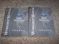 2009 Ford Mustang Shop Service Repair Manual GT Convertible Shelby GT500 4.0 4.6