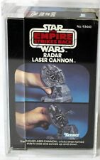 Vintage Star Wars Boxed ESB Mini-Rig Radar Laser Cannon AFA 75 #11573870