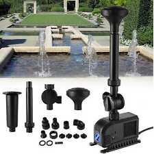 Eco Fuente de Bomba de Estanque 55W 3000L/H Juego Agua Fuente Jardín