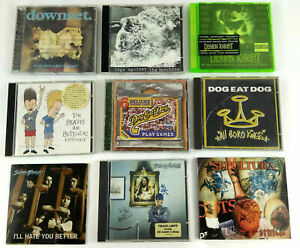 Lot de 9 CD Hard Rock  Sepultura Suicidal Tendencies etc  Envoi rapide et suivi