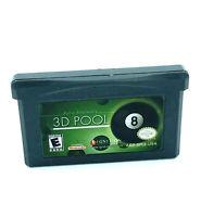 Archer Maclean's 3D Pool jeu Nintendo Game Boy Advance GBA Retrogaming