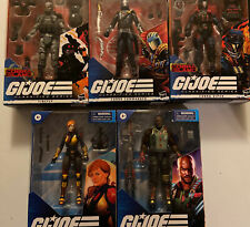 Lot Of 5 GI JOE Classified Series With TARGET EXCLUSIVE Cobra Viper & Firefly