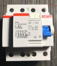 GEWISS GW9516 MDC 60 FI-Schalter B-Kurve 4-Polig 25A 0,03A 30mA 4P 6kA RCD B25