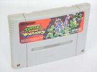 Super Famicom TEENAGE MUTANT NINJA TURTLES WARRIORS Nintendo Cartridge sfc