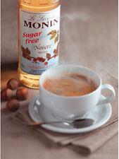 MONIN 1l Sugar Coffee Syrup Multi Listing Hazelnut