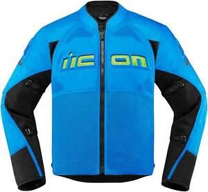 Icon Contra 2 Jacket - Textile D30 Armored Motorcyle Street Bike Riding Men's