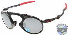 Oakley MADMAN Sunglasses OO6019-06 | Dark Carbon | Black Iridium Polarized BNIB