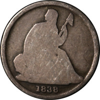 1838-O Seated Liberty Dime Great Deals From The Executive Coin Company