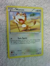 Carte pokémon miaouss 114/162 commune Xy Impulsion Turbo