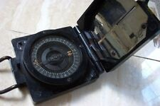 A WW2 BLACK BAKELITE MARK 1 BRITISH MILITARY MARCHING COMPASS c.EARLY 1940'S