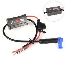 Universal Automobile Car FM/AM Radio Stereo Antenna Signal Amplifier Booster HC