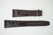 OMEGA NOS Vintage Leather Watch Strap Brown 20/14 20mm (B226)