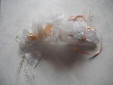 mariée coiffe fleur couronne peigne décoration de mariage