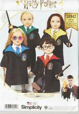 Simplicity Sewing Pattern 8942 Harry Potter Costume 18 inch Doll Clothes
