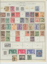 Malta Collection on Album pages