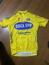 Vermarc Vintage Cycling Jersey Quick Step TDF Mens Small NWT Specialized
