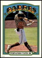 Fernando Tatis Jr. 2021 Topps Heritage 5x7 Variations #137F /49 Padres Throwback