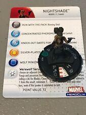 Marvel Heroclix Captain America Nightshade Uncommon 027