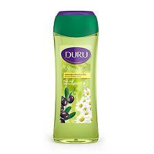 Duru Natural Olive Duschgel Shower Gel Olivenöl Kamille Shampoo 500ml