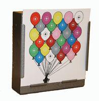 100 Air Rifle Coloured Balloons Paper Targets 14cm Pistol Gun  (100gsm uk made