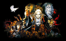 Castlevania  High Quality Wall Poster Huge  - 22 in x 34 in - Fast shipping