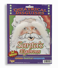 SANTA CLAUS EYEBROWS MOHAIR STYLE SELF ADHESIVE HOLIDAY ACCESSORY