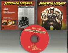 MONSTER MAGNET 5 Reasons to testify 5TRK CAREER SAMPLER PROMO DJ CD single 2001